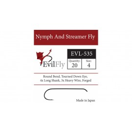 EVL-535 Nymph And Streamer Fly
