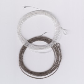 EVL HARD Floating Furled Tapered Leaders with Tippet Rings